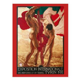 Turin 1911 World's Fair Postcard