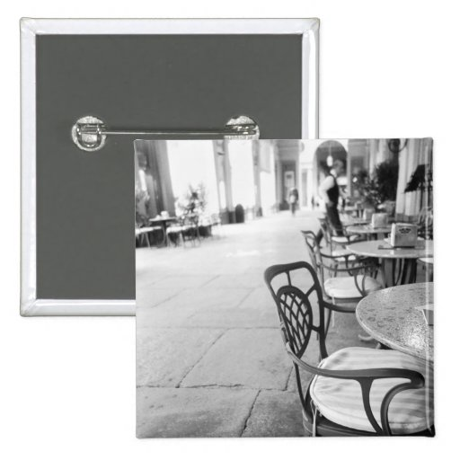 Turin Italy, Cafe and Archway Pinback Buttons