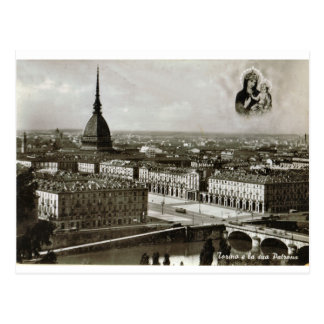 Turin, Torino, city view Postcard