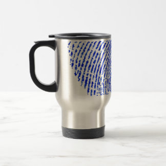 Turistic mug fingerprint