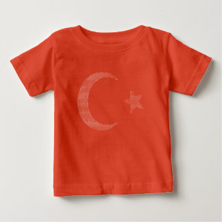 Türk Bayrağı - Turkish Flag with Liberation March Baby T-Shirt
