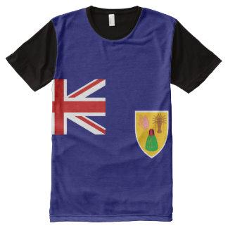 Turk caicos Island National flag  Shirt