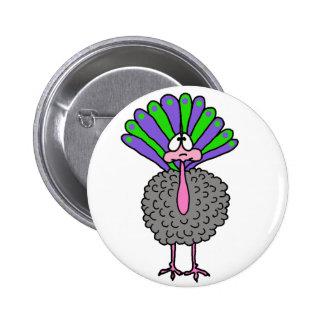 turkey 2 inch round button