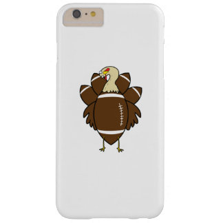 Turkey And Football Thanksgiving Funny Barely There iPhone 6 Plus Case