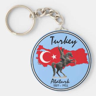 Turkey-Ataturk Keychain