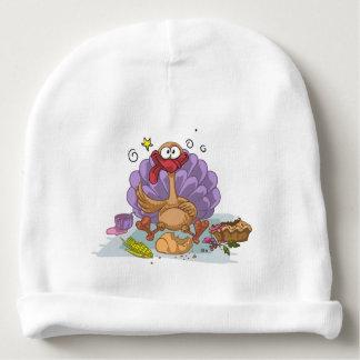 turkey baby beanie