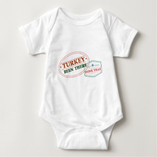 Turkey Been There Done That Baby Bodysuit