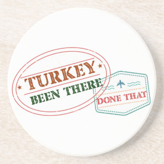 Turkey Been There Done That Coaster