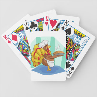 turkey bicycle playing cards