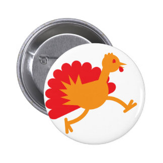 Turkey bird on the run! pins