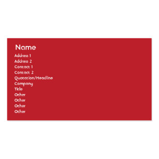 Turkey - Business Business Card