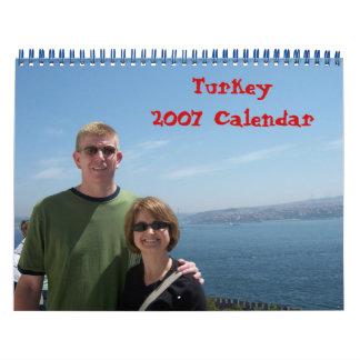 Turkey Calendar 001, Turkey2007 Calendar