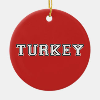 Turkey Ceramic Ornament