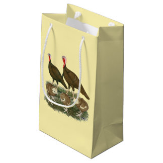 Turkey Chocolate Family Small Gift Bag