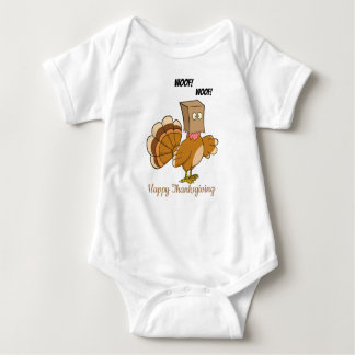 Turkey Disquised As Dog Baby Bodysuit