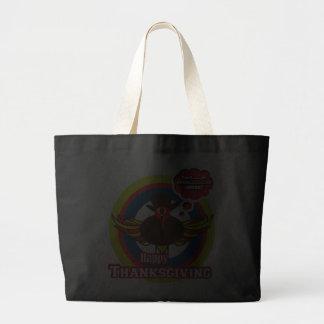 Turkey divas - Outlaw Wayne funny cartoon bags
