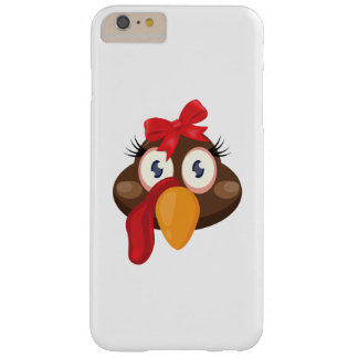 Turkey Face Thanksgiving for Kids Woman Barely There iPhone 6 Plus Case