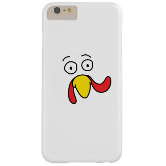Turkey Face Thanksgiving Gift Barely There iPhone 6 Plus Case
