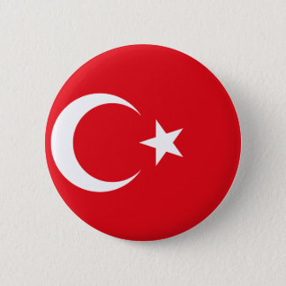 Turkey Flag 2 Inch Round Button
