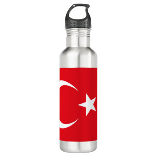 Turkey Flag 710 Ml Water Bottle