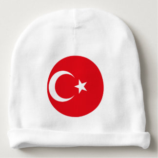 Turkey Flag Baby Beanie