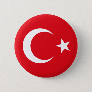 Turkey Flag Button