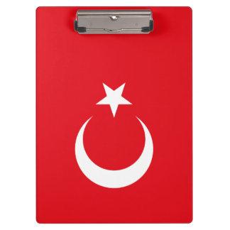 Turkey Flag Clipboard