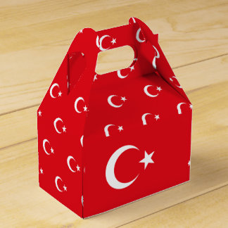 Turkey Flag Favor Box