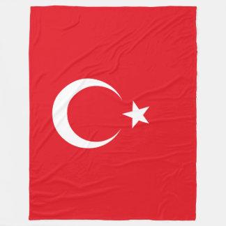Turkey Flag Fleece Blanket