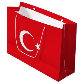 Turkey Flag Large Gift Bag
