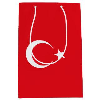 Turkey Flag Medium Gift Bag