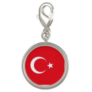 Turkey Flag Photo Charms