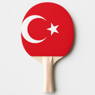 Turkey Flag Ping Pong Paddle