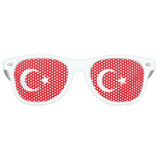 Turkey Flag Retro Sunglasses