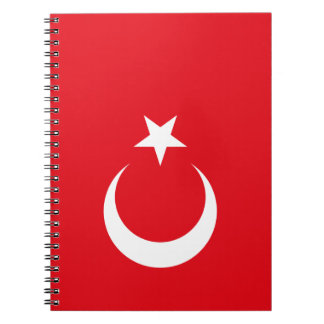 Turkey Flag Spiral Notebook