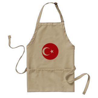 Turkey Flag Standard Apron