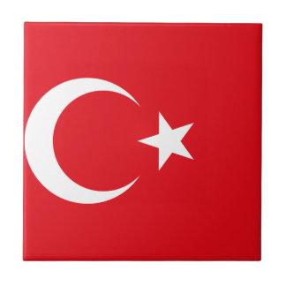 Turkey Flag Tile