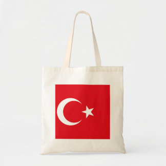 Turkey Flag Tote Bag