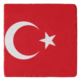 Turkey Flag Trivet