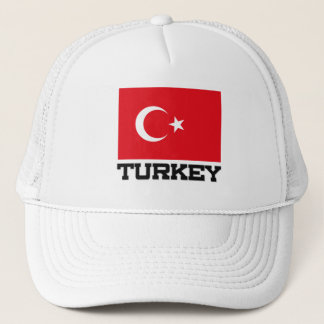 Turkey Flag Trucker Hat