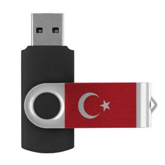 Turkey flag USB flash drive