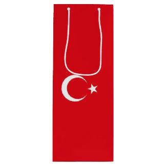 Turkey Flag Wine Gift Bag
