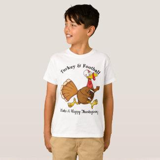 Turkey & Football T-Shirt