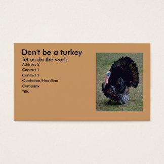 Turkey Fun Profile Card
