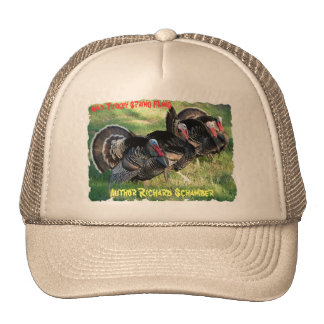 turkey hat, Author Richard Schamber, turkey... Trucker Hat