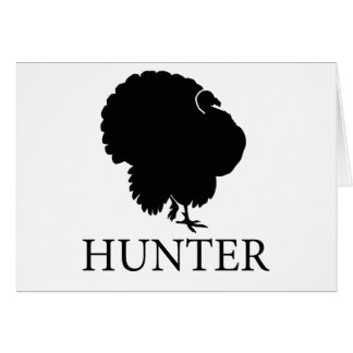 Turkey Hunter Card