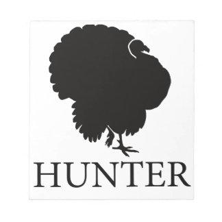 Turkey Hunter Notepad