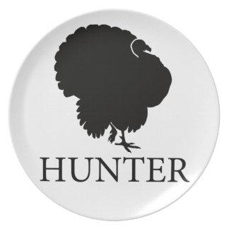 Turkey Hunter Party Plates