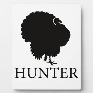 Turkey Hunter Plaque