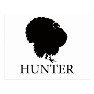 Turkey Hunter Postcard